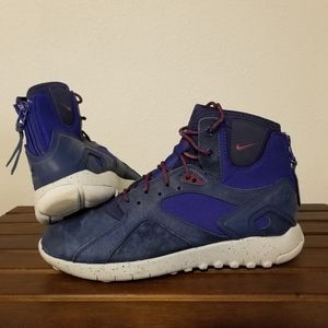 Nike Koth Mid Boots Deep Royal Sz 9